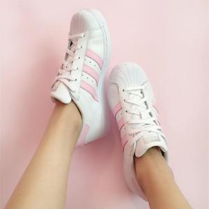 san francisco 5b97b ae93d Image is loading Adidas-Originals-Superstar-New-Women-s-Shoes-ba9915-