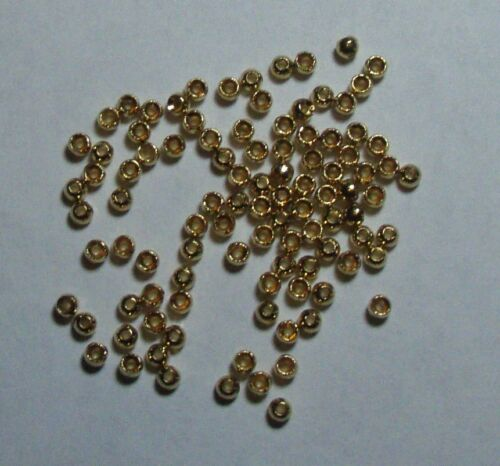 Tungsten Beads Gold  40 qty size  5//64 Fly Tying FREE SHIPPING