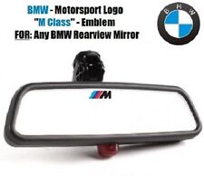 BMW Decal Motorsport Logo Rearview Mirror Window Sticker M3 M4 M5