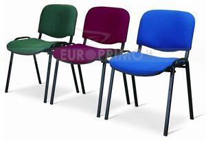 Sedia poltrona fissa da ufficio per studio da sala attesa for Sedute da ufficio