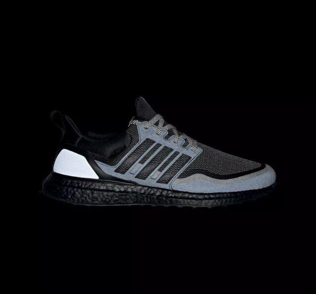 Size 10 - adidas UltraBoost Reflective Black 2019
