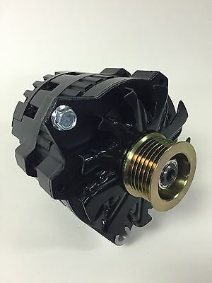 90-95 NEW CHEVROLET TAHOE GMC YUKON SMALL CASE HI OUTPUT BLACK ALTERNATOR 200 A