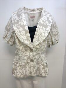 2 Jacket de 4 blazer mélange en femmes 3 Julian habillé pour S manteau de Sisters lin n0wx5Iqa8t