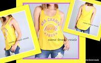 La Lakers Hardwood Classics Yellow Tank Top Womens S M L 1985 Nba Champs