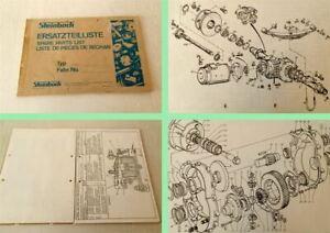Steinbock-EFW-Gabelstapler-Ersatzteilkatalog-Ersatzteilliste-parts-list-1975-76
