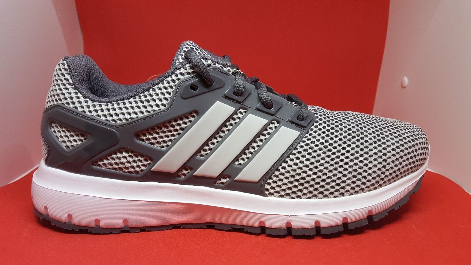 Men's Adidas Energy Cloud M Running Shoes Grey BB3151 SZ 9.5 and 10