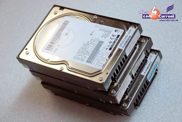 80POL 80-PIN 9GB FUJITSU MAG3091LC SCSI HOTPLUG HARD DISC HDD FOR SERVER n865