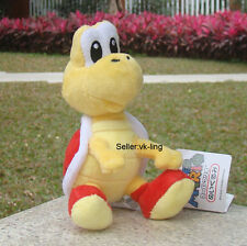 "Super Mario Bros Red Koopa Troopa 6"" Plush Toy Soft Fluffy Turtle Stufed Animal"