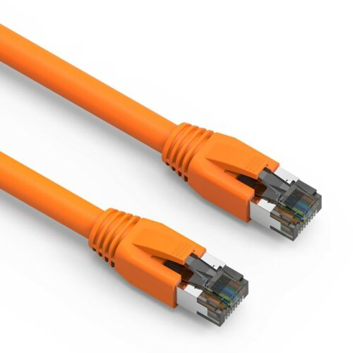 35FT Cat.8 S//FTP Ethernet Network Cable 2GHz 40G