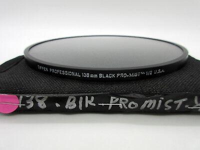 Tiffen 138mm Pro-Mist 1 Round Glass Filter