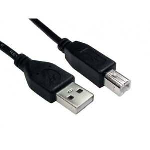 USB-3m-Printer-Cable-Lead-USB-A-to-B-HP-Canon-Epson-Kodak-USB-2-0-Long