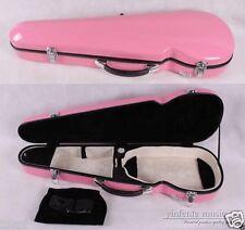 4/4 violin case glass fiber case waterproof Light Durable reinforced Pink #03