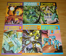 Chaser Platoon #1-6 VF/NM complete series - aircel comics - tim eldred 2 3 4 5