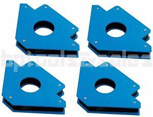 "New 4/"" 50lb Strength Strong Welding Magnetic Arrow Holder Magnets Magnet 4"