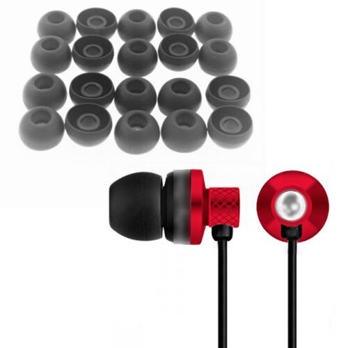 For Universal Earphones Large Replacement Silicone EARBUD Tips Covers 20x JKCA