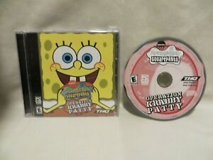 SpongeBob-SquarePants-Operation-Krabby-Patty-PC-2001-CD-Rom-Computer-Game