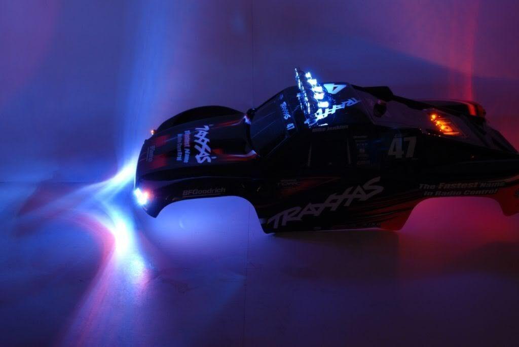 RC LED Light Light Light Set with Light Bar Traxxas Slash 2WD VXL or RC10  1 Light Set Only da74a2