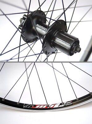 MOMENTUM WHEELS S-Track 2.10/M475 26in Disc/V-Brake Rear 6-Bolt  8/9 speed Black