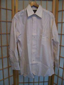 size medium Vintage shirt vintage clothing NOS button down shirt long sleeve shirt white shirt Kmart shirt