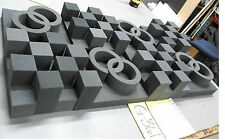 "2"" Thick Studio Acoustic Soundproofing Foam Tiles 24""x 48"""