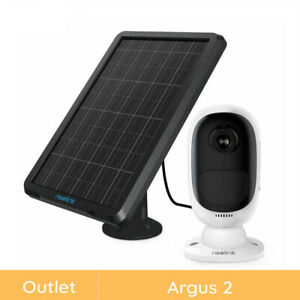 Reolink Refurbished 1080p Outdoor Wire-Free Security Camera Argus2+ Solar Power