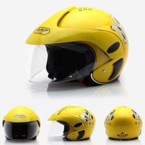 Safety Half Face Helmet  Children Kids Motorcycle Motorbike Cycling Skating