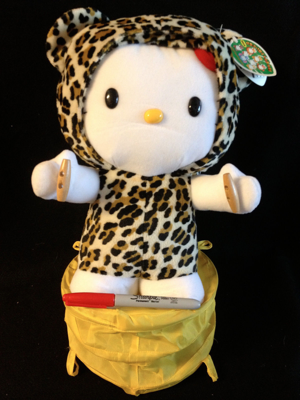 Sanrio Big Hello Kitty LEOPARD In the Jungle  from Japan-ship free