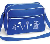 Dalek Equation Retro Shoulder School Messenger Bag Royal Blue