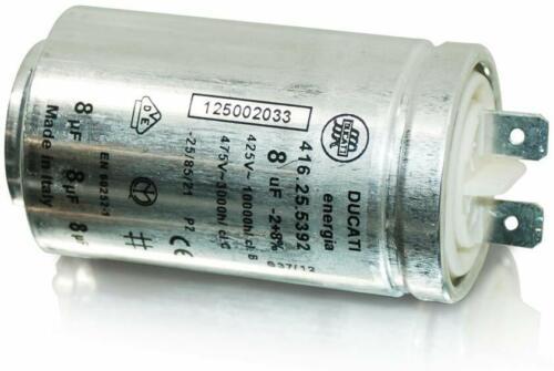 Condensatore Asciugatrice Zanussi Electrolux AEG Tricity 8uF DUCATI 416.25.5392