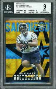 2004-finest-gold-xfractors-62-MICHAEL-TURNER-rookie-card-BGS-9-9-5-9-9-5-8-5