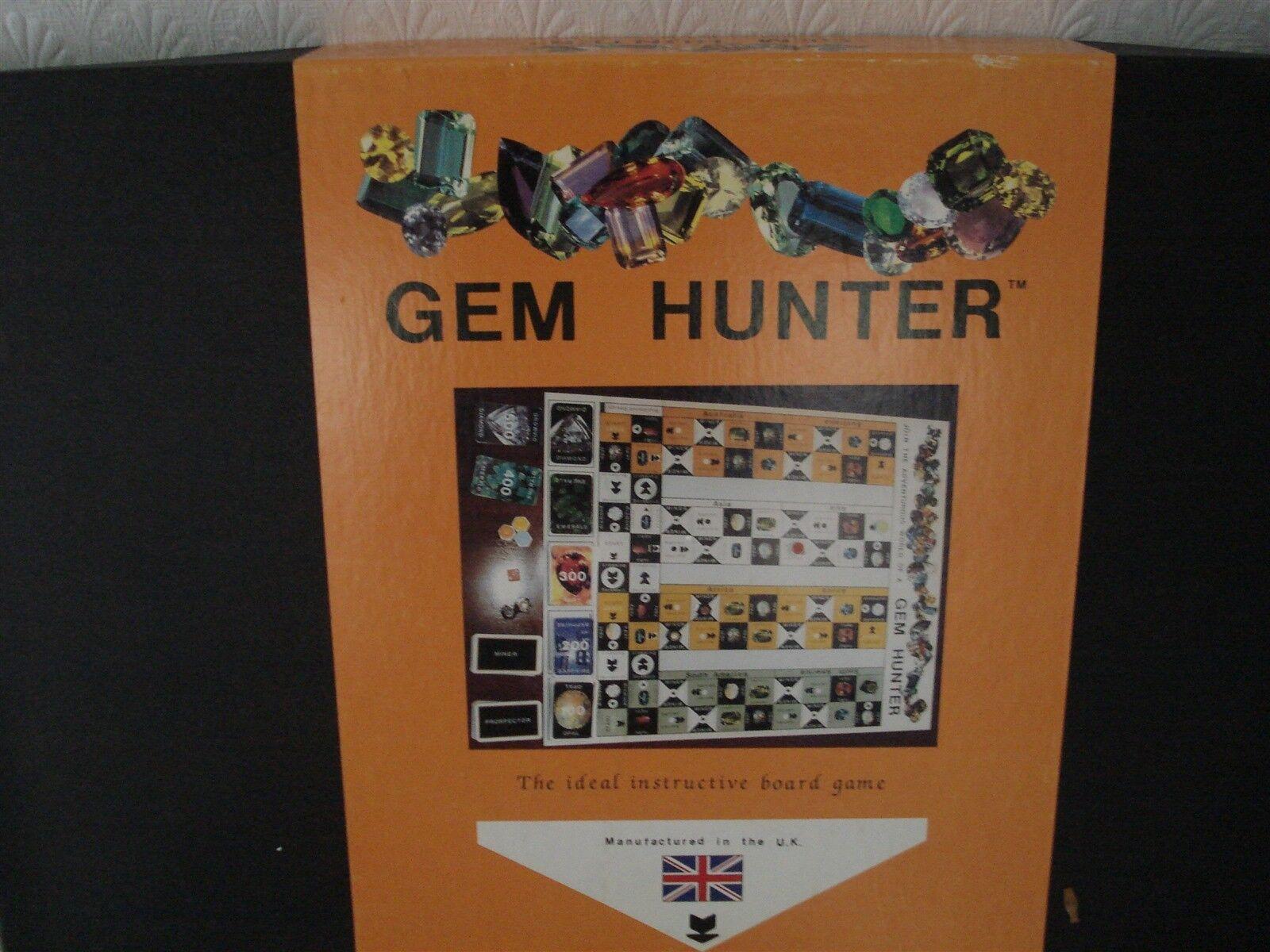 GEM HUNTER GAME - 100% - RARE - COLLECT VARIOUS JEWELLS - GEM HUNTER - VINTAGE