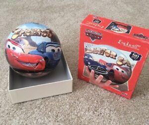"2008 MEGA ""Esphera 360"" Disney Pixar CARS 6"" Diameter 3D Puzzle Ball (Sally Doc)"