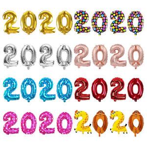 Cadeau-Helium-ballon-Digital-ballon-Feuille-d-039-aluminium-Chiffres-pour-2020