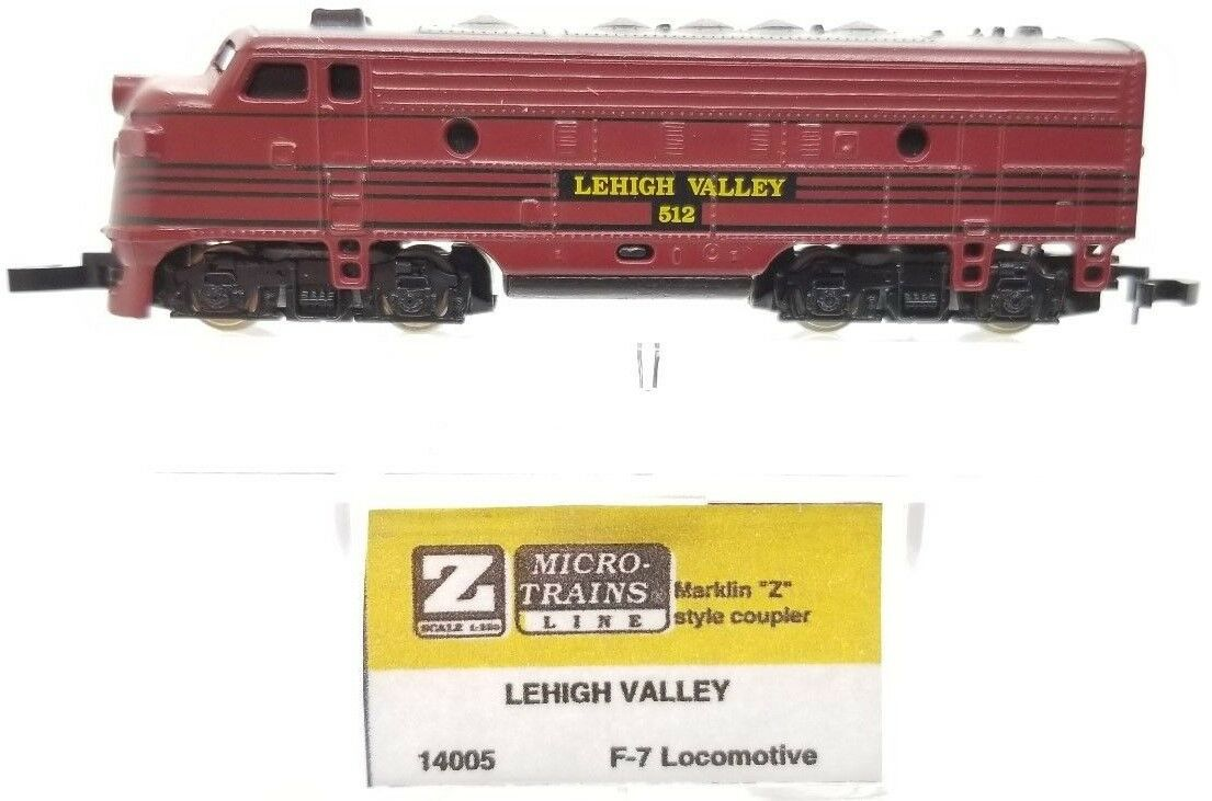 MTL Z 14005 F7 Lehigh Valley Powerosso A-Unit Locomotive   512  Tested
