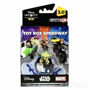 Agressif New Disney Infinity 3.0 Toy Box Speedway Expansion Game Pack Star Wars Official Couleurs Harmonieuses