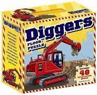 Diggers Floor Puzzle by Bonnier Publishing Australia (Hardback, 2010)