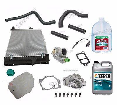 For Volvo V70 S70 C70 Radiator Kit Amp Coolant Parts W