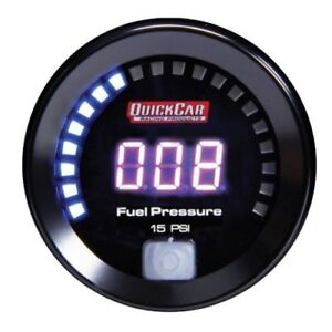 Quickcar Racing Products 67-000 Digital Fuel Pressure Gauge 0-15 psi