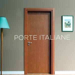 Dettagli su Porte interne Laminato Ciliegio compreso telaio mostrine ecc.