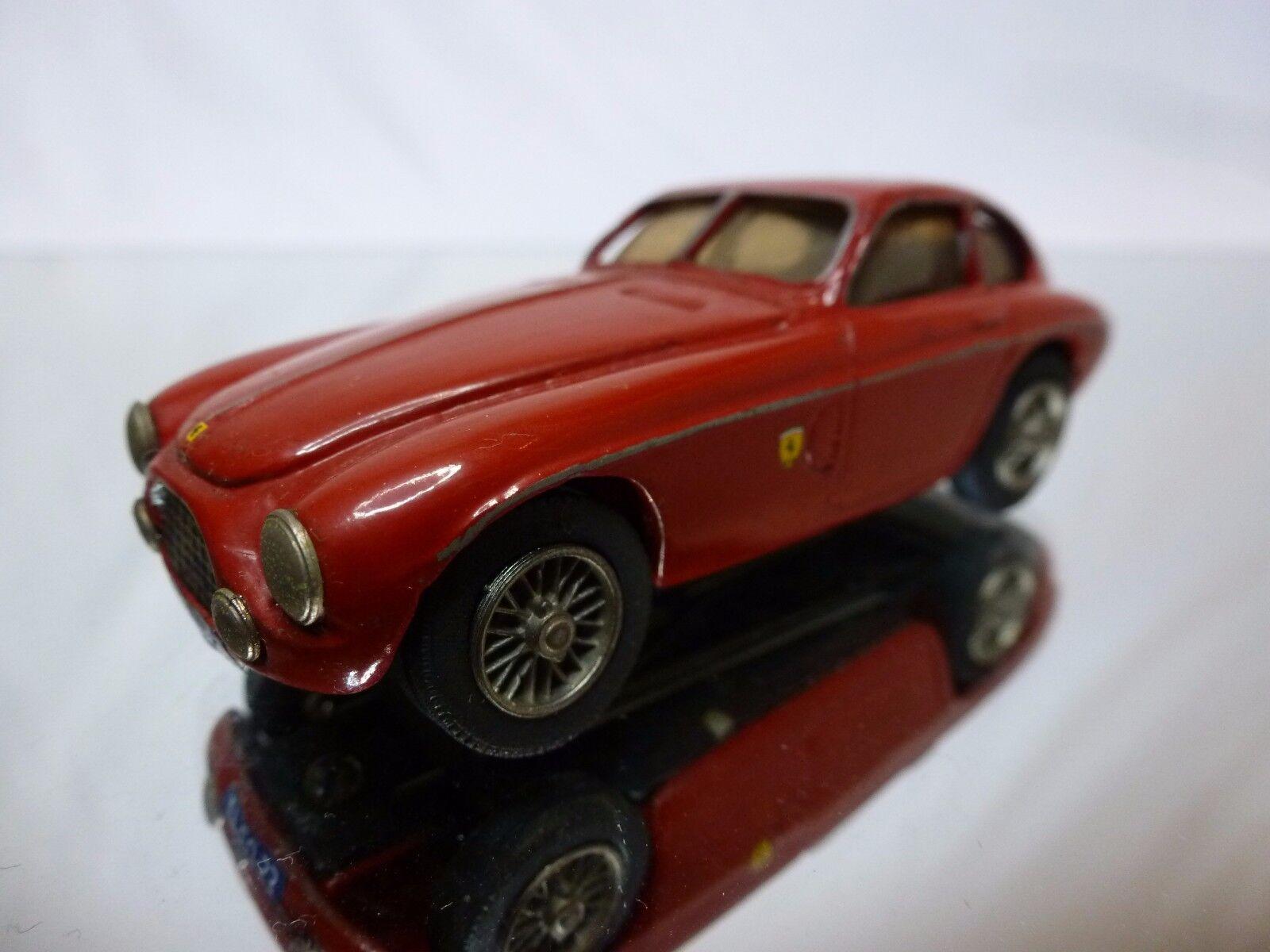 merce di alta qualità e servizio conveniente e onesto METAL METAL METAL KIT (built) FERRARI 225 1952 - rosso 1 43 - GOOD CONDITION  negozio di moda in vendita