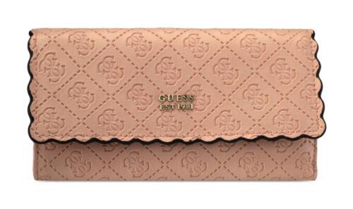 GUESS RAYNA Pocket Trifold Rosa Damen-Geldbörse Portemonnaie Wallet