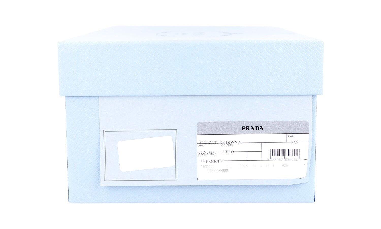 LUXUS PRADA PUMPS SCHUHE DNC666 SCHWARZ NEU NEW 39,5 39,5 39,5 40 UK 6.5 b0a334