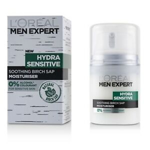 L-039-Oreal-Men-Expert-Hydra-Sensitive-Moisturiser-50ml-Men-039-s-Skin-Care