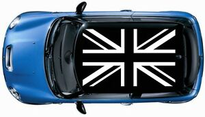 Image Is Loading 0283 1set 4pcs British Flag Roof Decal Graphic