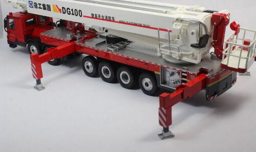XCMG 1//50 DG100 Aerial Platform Mercedes Benz Fire Truck Diecast Model Toy