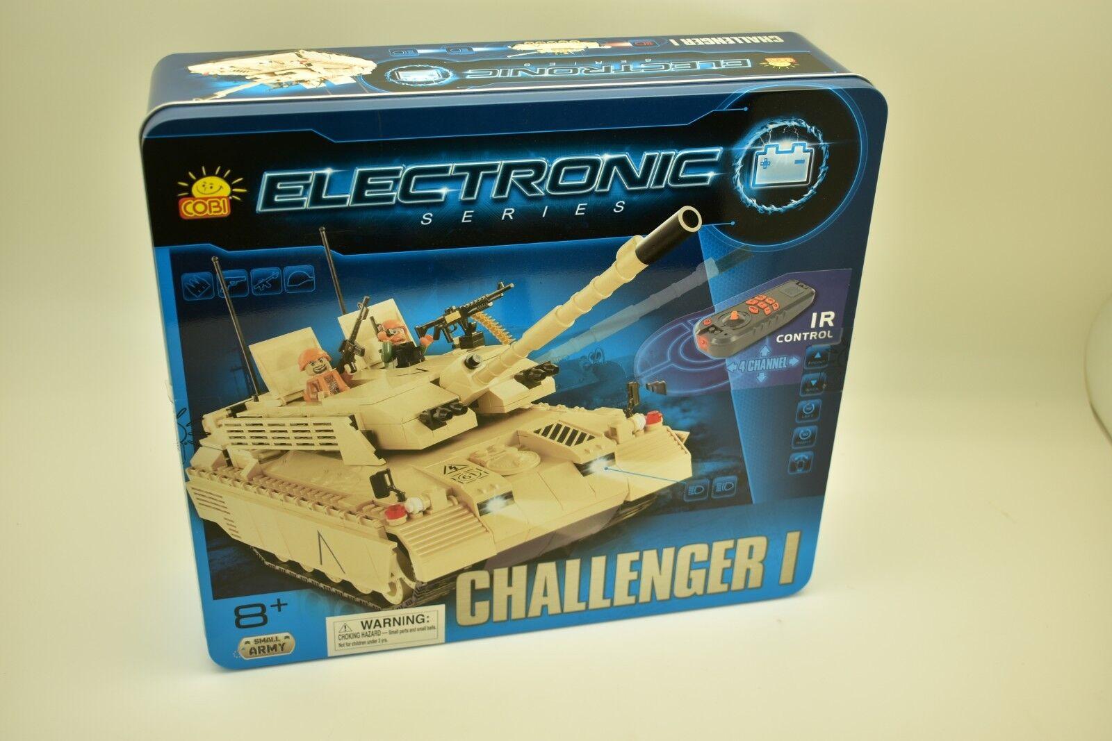 Cobi - Électronique Séries,Challenger I (I R ) 21901 Ir Contrôle,Chars Motorisé