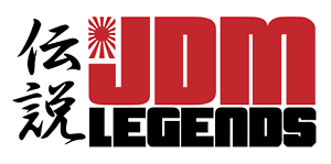 JDM LEGENDS CAR DECAL 10X4IN CUSTOM COLOR UPON REQUEST
