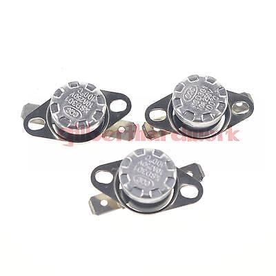 3PCS KSD301 NC 30 Celsius Button Temperature Switch Senser Thermostat Controllor