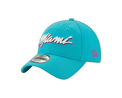 factory outlets buy cheap wholesale dealer Miami Heat Vice New Era 9TWENTY NBA City Edition South Beach Dad ...