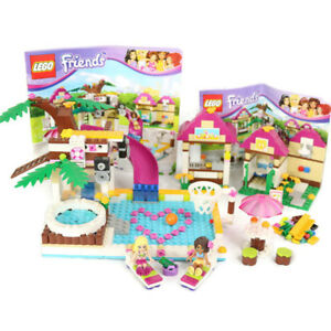 Lego Friends Heartlake City Pool 41008 Retired Instruction Manuals
